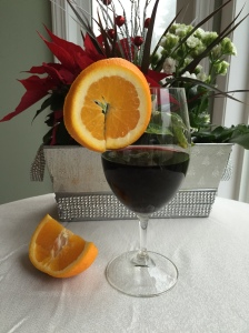 Orange and Pomegranate Sangria