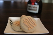 Cardamom Shortbread cookies with Grand Marnier Buttercream
