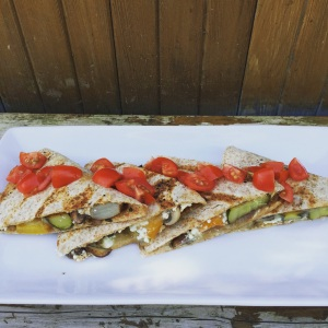 Roasted Vegetable Quesadillas