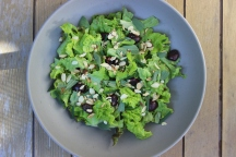 Roasted Cherry Salad with Maple Vinaigrette