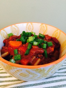 beef and veggie chili